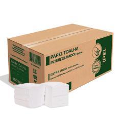 Imagem de Papel toalha interfolha 2 dobras caixa C/5000 ipel