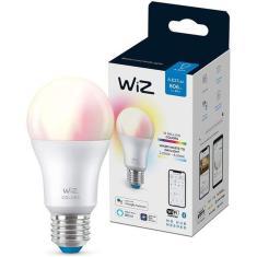 Imagem de Lâmpada Smart Bulbo Inteligente Wifi Rgb 800lm  Wiz