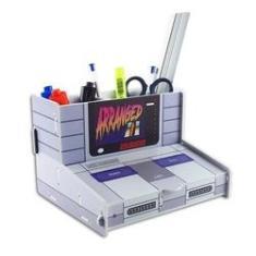 Imagem de Organizador Escritório Porta Caneta Console Super Nintendo