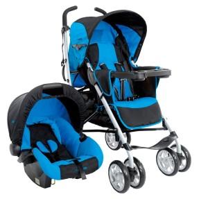 Carrinho de Bebê Travel System com Bebê Conforto Kiddo Cross 5252