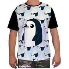 Imagem de Camisa Camiseta Masculina Hora De Aventura Finn Jake 10