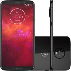 Smartphone Motorola Moto Z Z3 Play XT1929-5 128GB Qualcomm Snapdragon 636 12,0 MP 2 Chips Android 8.1 (Oreo) 3G 4G Wi-Fi
