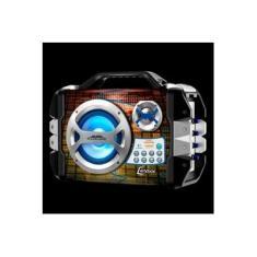 Caixa Amplificada Bluetooth Sound Wave com Microfone - Lenoxx