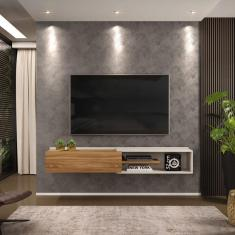 Imagem de Rack Suspenso Concept 175Cm Cool Home Off White/ Nature