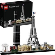 Imagem de Lego Architecture França Paris Torre Eiffel 649 Peças 21044