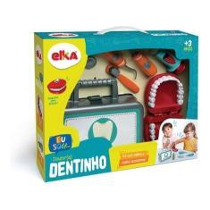 Imagem de Maleta Brincando De Dentista Dr. Dentinho 952 - Elka