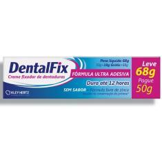 Imagem de Dentafix Creme Fixador para Dentaduras - Sem Sabor - 68g