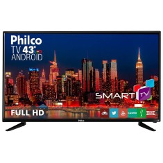 "Smart TV LED 43"" Philco Full HD PH43N91DSGWA 2 HDMI"