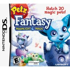 Jogo Petz Fantasy Moonlight Magic Ubisoft Nintendo DS