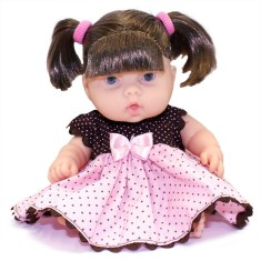 Imagem de Boneca Bebê Dolls Collection 1837/13 Cotiplás