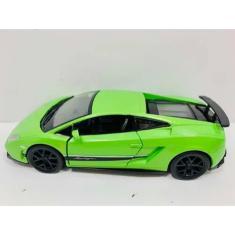 Imagem de Miniatura Lamborghini Gallardo Verde Hot Wheels Luz Som 1/32