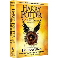 Harry Potter And The Cursed Child - Parts 1 & 2 - Special Rehearsal Edition - J. K. Rowling - 9781338099133