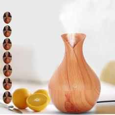 Imagem de Umidificador De Ar Com Led Aromaterapia Difusor Lançamento