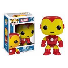 Imagem de Funko Pop! Marvel - Iron Man #04 (Homem De Ferro)