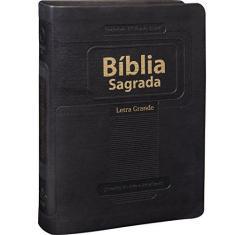 Bíblia Sagrada - Revista e Atualizada com Letra Grande - Sbb - Sociedade Biblica Do Brasil - 7898521806651