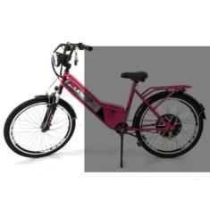 Imagem de Bicicleta Duos Bikes Lazer Aro 26 Suspensão Dianteira Freio V-Brake Confort