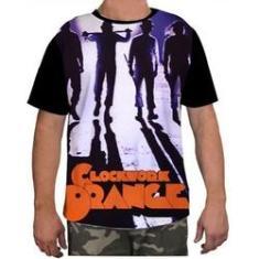 Imagem de Camisa Camiseta Masculina Clockwork Orang Laranja Mecanica 7