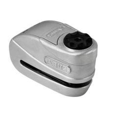 Trava De Disco E Alarme Abus Granit Detecto 8008 Prata 2.0