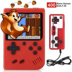 Imagem de 2021 novo 400 em 1 jogador de jogo mini handheld portátil retro console 8 bit built-in gameboy 3.0