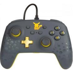 Controle Nintendo Switch Pikachu Gray - Power A