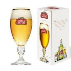 Imagem de Taça De Cerveja Stella Artois 250ml Importada Turquia