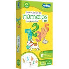 Imagem de Jogo Educativo Descobrindo os Numeros 1 ao 5 Toyster