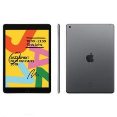 "Tablet Apple iPad 7ª Geração 32GB 4G 10,2"" 8 MP iPadOS"