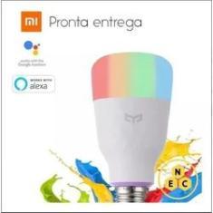Imagem de Lâmpada Inteligente Xiaomi Colorida Smart Yeelight Wifi Bivolt 10w (MIL)