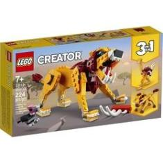 Imagem de Lego Creator Leao Selvagem 31112