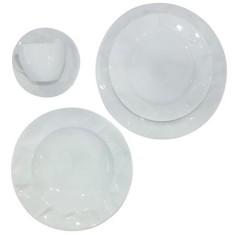 Aparelho de Jantar Redondo de Porcelana 30 peças - Edros Germer