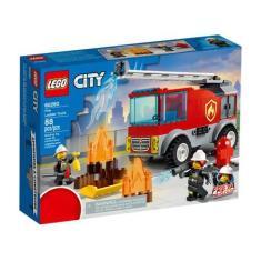 Imagem de LEGO City Caminhão dos Bombeiros com Escada - 88 Peças 60280