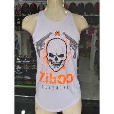 Imagem de Camiseta Regata /Laranja Ziboo