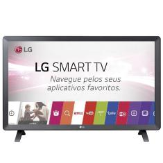 "Smart TV LED 23,6"" LG 24TL520S 2 HDMI USB"