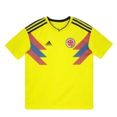 Camisa Infantil Colômbia I 2018 19 sem Número Torcedor Infantil Adidas 4484e58d1e1ae