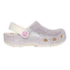 Imagem de Sandália Infantil Feminino Crocs Classic Glitter 205441-159