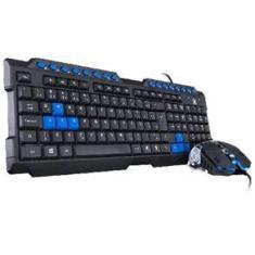 Imagem de Teclado E Mouse Gamer Vx Gaming Grifo - Mouse 2400 Dpi Cabo Usb 1.8 Metros Led  - Vgc-01A