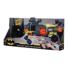 Imagem de Super Lança Dardos Nerf E Mascara Batman - Brinquedos Rosita