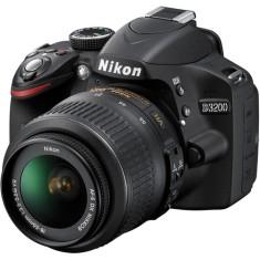 Câmera Digital DSLR(Profissional) Nikon 24,2 MP Full HD D3200
