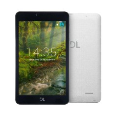 "Tablet DL Eletrônicos 8GB TFT 7"" Android 7.0 (Nougat) Creative Tab"
