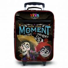 Mochila com Rodinhas Escolar Dermiwil Disney Viva G 30456