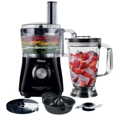 Processador de Alimentos com Liquidificador Philco All in One Citrus 2 800 W