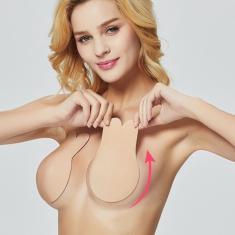 Imagem de Adesivo sutiã invisível silicone segura e suspende peitos