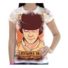 Imagem de Camiseta Camisa Feminina Orange Laranja Mecanica 30