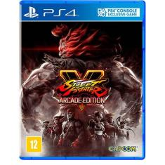 Jogo Street Fighter V Arcade Edition PS4 Capcom