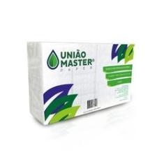 Imagem de Papel Toalha Interfolha Luxo 2 dobras 23X21cm fardo com 1000Fls - União Master Paper