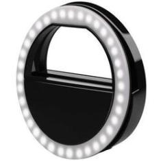 Imagem de Luz De Selfie Ring Light Anel Led Flash Celular Recarregável