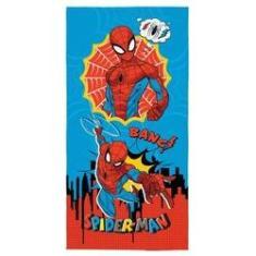 Imagem de Toalha De Praia Infantil Aveludada Estampada Spider Man Lepper