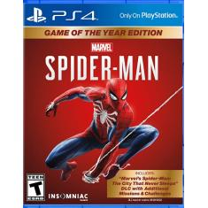 Jogo Marvel's Spider-Man: Game of The Year Edition PS4 Insomniac