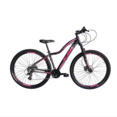 Imagem de Bicicleta Mountain Bike KSW MTB 24 Marchas Aro 29 Suspensão Dianteira Freio a Disco Mecânico Mwza