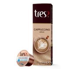 Imagem de Capsula de Cappuccino 11g CX 10 UN Cafe 3 Coracoes